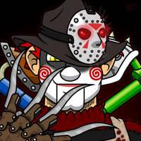 Halloween Town Retro by professorhazard