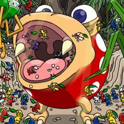 Spotty Bulborb by professorhazard