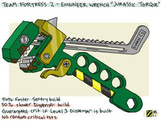 TF2 Engineer 'Jurassic Torque' by professorhazard