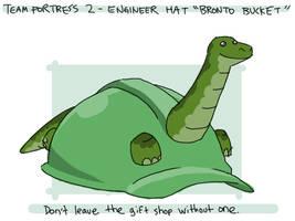 TF2 Engineer 'Bronto Bucket' by professorhazard