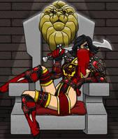 The Stonemason Queen by professorhazard