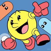 Pac-Man by professorhazard