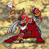 Ninja Lancer by professorhazard