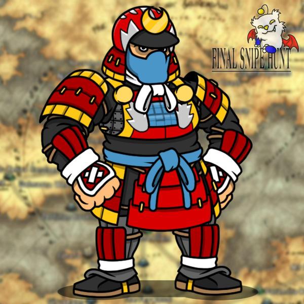 Samurai Booyah by professorhazard