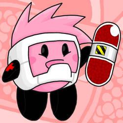 Kirby Hats - Doctor Worm by professorhazard