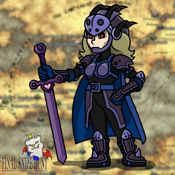 Dark Knight Vannah by professorhazard