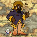 Flame Gambler Eric by professorhazard