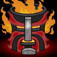 Summon Totem: Fire by professorhazard