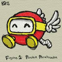 Pooka Paratrooka by professorhazard