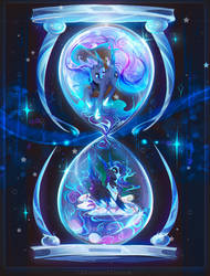 Night Hourglass by Koveliana