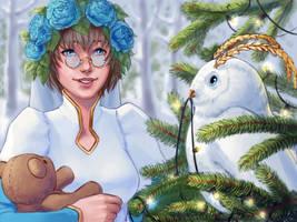 [Eldarya] Secret Santa by MsShalfey