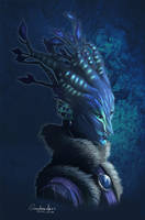 My Sylvari (Quadrackss) by Quadrackss