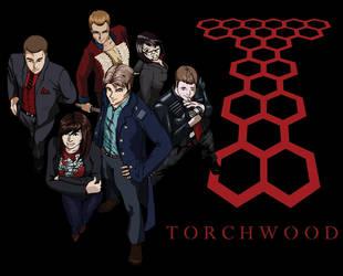 Team Torchwood by Bijutsu-san