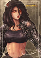 Glory - Shadowrun: Dragonfall by KaizerChang