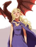 Daenerys Targaryen by russell-o