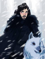 Jon Snow by russell-o