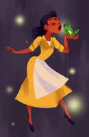 Princess Tiana by russell-o