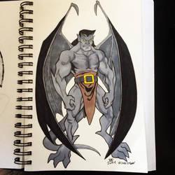 INKtober Day 26 Goliath by BigDogsStudio