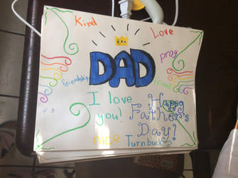 Happy Father's Day(My little sister's pictures 3) by Apolonahue1