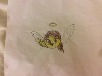 Angry birds epic Illa the angel bird by Apolonahue1