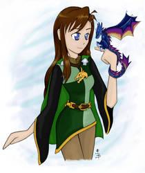 Dragon Friend by Wahl-Von-Lugacki