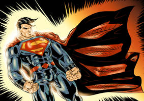 Superman Colored 2016 by azzh316