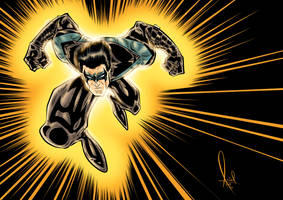 Nightwing Colored 2016 by azzh316