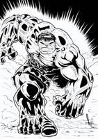 Hulk Inks 2016 by azzh316