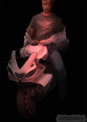 Take a ride with Desmond Miles by TheRoachSalad