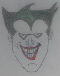 My Drawing Of The Joker by spencerbt123