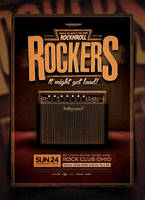 Rock Poster Template Vol. 1 by IndieGround