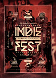 Indie Poster Template Vol. 20 by IndieGround