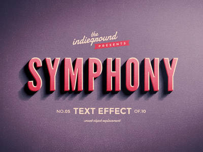 Retro Vintage Text Effect No.5 by IndieGround