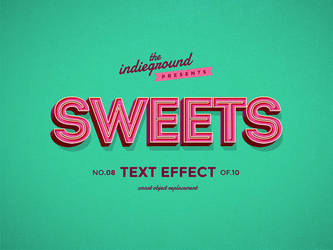 Retro Vintage Text Effect No.8 by IndieGround