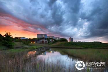 Stormy Dawn Over Weston by Neutron2K