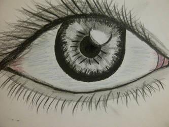 weird eye by DimaCupidAngel