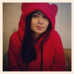 red bear ! by DimaCupidAngel