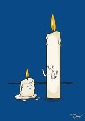 Candles by DimaCupidAngel