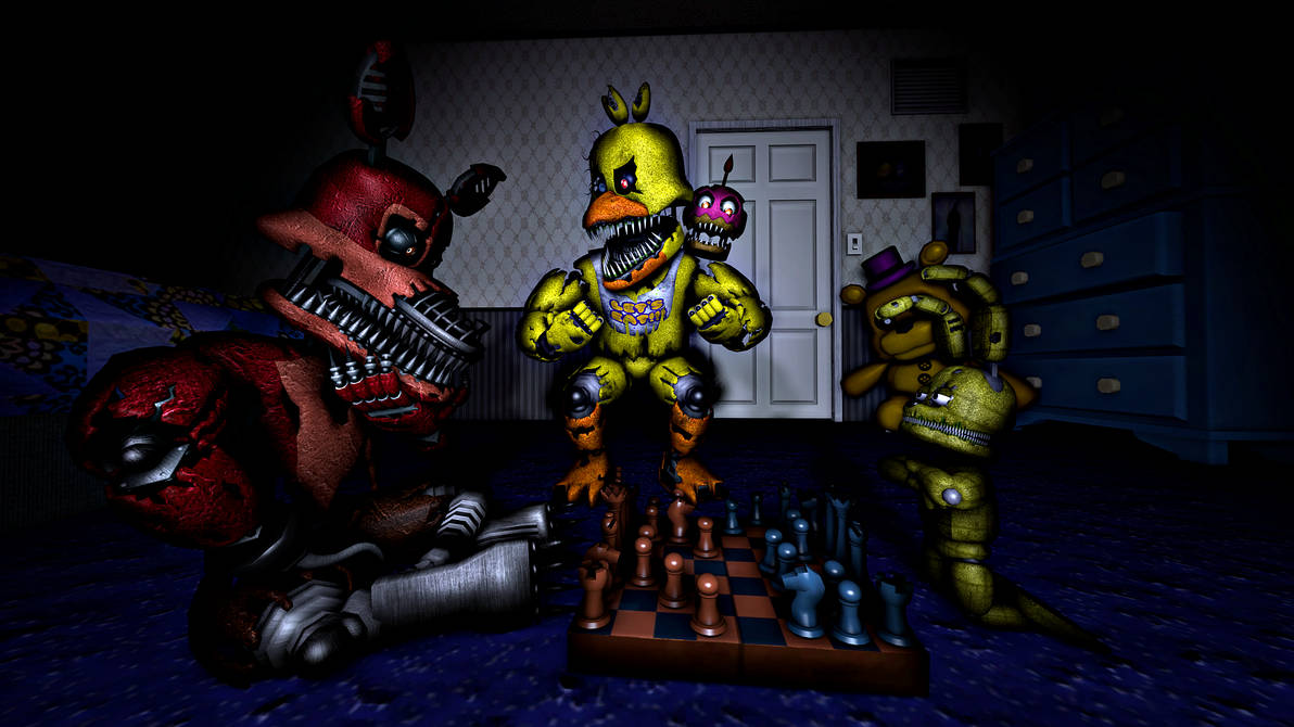 Nightmare Fnaf Plushtrap Wwwtollebildcom