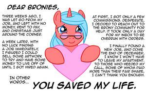 Dear Bronies... by Tprinces