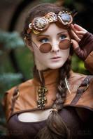 Blue Eyes Steampunk by Nivelis