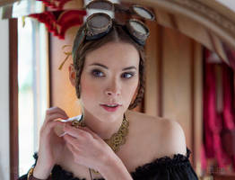 Steampunk Beauty by Nivelis
