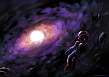 Lost in Galaxy by AkiraxCMXC