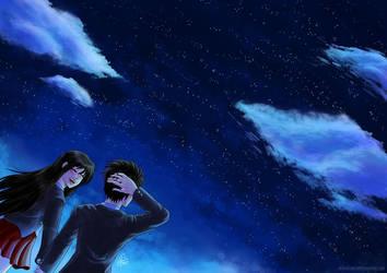 Love under the Stars by AkiraxCMXC
