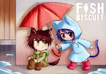 Fish Biscuit: Rainy Days by AkiraxCMXC