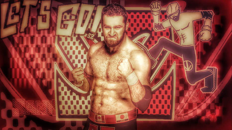 Wwe Sami Zayn Wallpaper By Rorychko On Deviantart