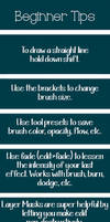 Beginner Tips for Photoshop by dandelionchronicles