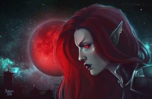 Bloodmoon rising by phoenixz38
