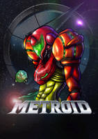 Metroid Tribute by DarkeDny