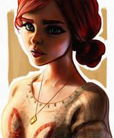 Triss Merigold by DarkeDny